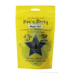 Kev's Jerky Mega Hot Jerky 100g