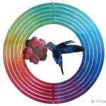 "Classic Collection Wind Spinner – ""MULTI HUMMINGBIRD"" 26cm"