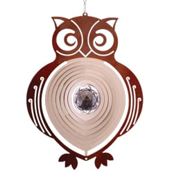 "Contempo Collection Wind Spinner – ""OWL"" 30cm"