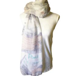 Paris themed scarf – FREE POSTAGE