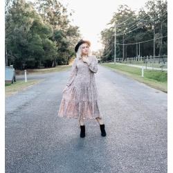 Coco Midi Tier Dress