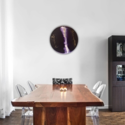 'Purple Flash' wall art
