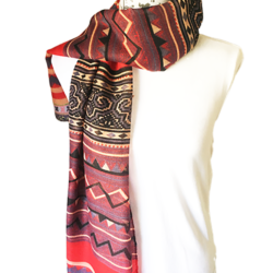 Red Boho scarf – FREE POSTAGE – 14 other designs available in our store.