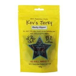 Kev's Jerky Rocky Ripper Beef Jerky 100g