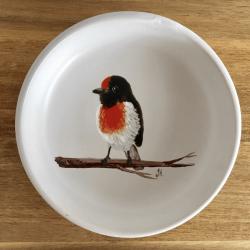 Scarlet Robin Trinket Dish
