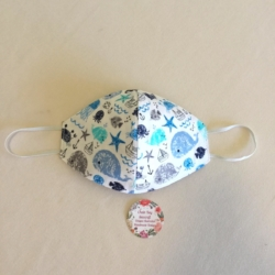Handmade Adult Face Mask – Seafaring!