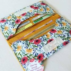 Handmade Ladies Purse – Summer Floral