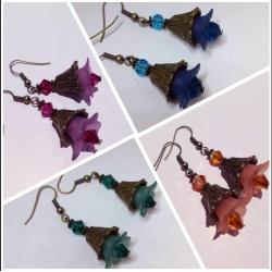 Vintage bells earrings