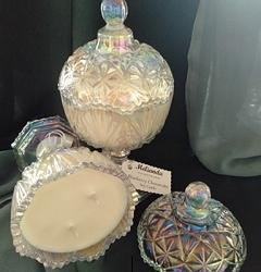 Elegant Crystal Soy Candle