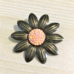 Daisy with Various Colour Gem Brooches / Pins