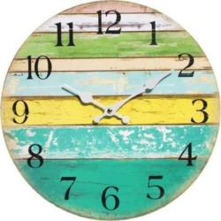 Clock Beach Themed Coloured Board