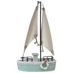Sailboat Aqua