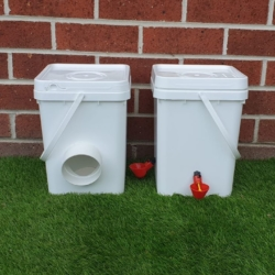 Midi Pack – Chicken Feeder and Waterer -DELIVERED!
