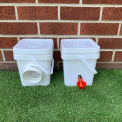 Mini Pack – Chicken Feeder and Waterer -DELIVERED!