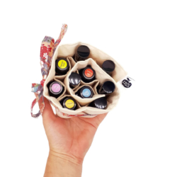 Essential Oil Wrap – with ribbon colour options