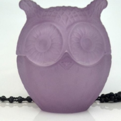 Baby Owl Soy Candle – Lilac