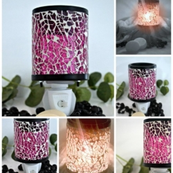 Plug In Melt Warmer – Pink Mosaic