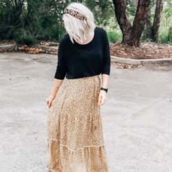 Bindy Boho Maxi Skirt