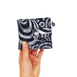 Grey Batik Swirls