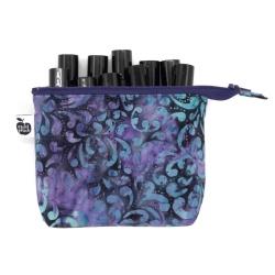 Purple Batik Flourish
