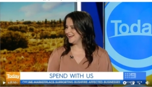 Bushfire Business Support – The TODAY Show Australia