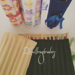 Handmade Pencil and Crayon Rolls