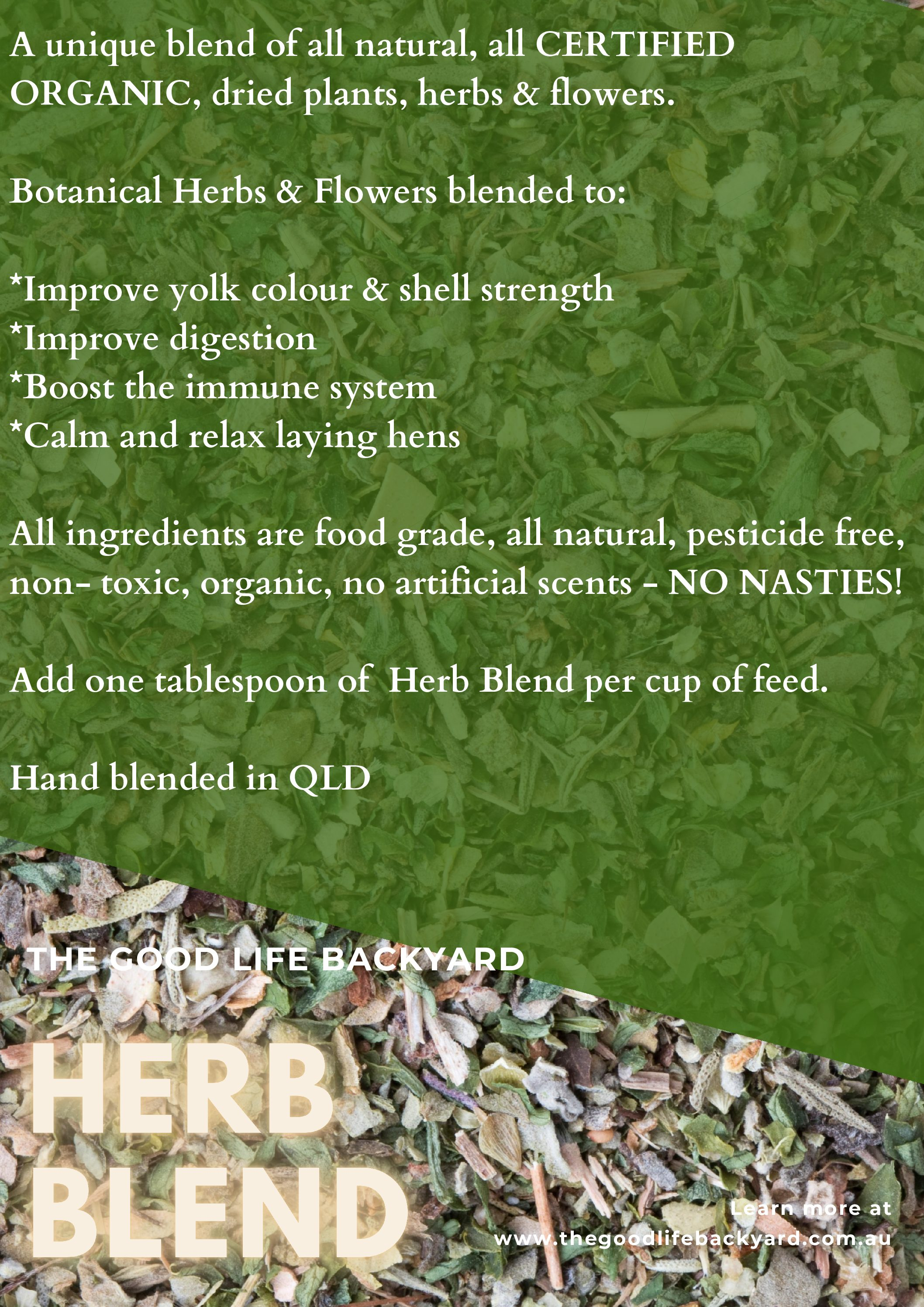 Herb Blend – Chicken Health Supplement