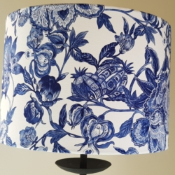 Hamptons style lampshade, hand carfted in Bermagui