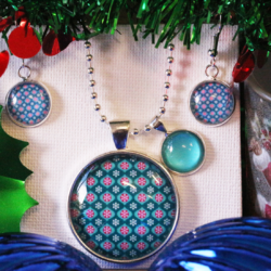 NEW RELEASE – Christmas Baubles – Christmas Theme Necklace and Earring Set – FREE POSTAGE – 13 other designs available. (Copy)