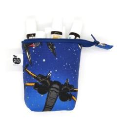 Roller Bottle Bag – Space Wars Blue