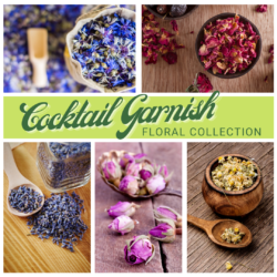 Cocktail Garnish Kit – Floral Collection