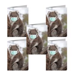 Koala – Covid Safe Greeting Card (Pk 5)