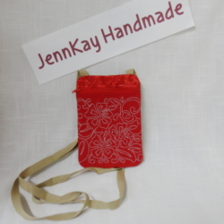 Mini Messenger Pouch Hawaii Red design