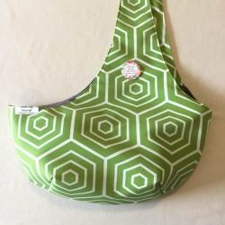 Crossover Pet Sling Carrier – Avocado Hexagons