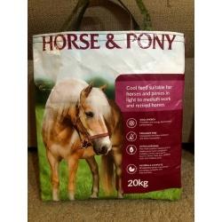 Upcycled Feedbag – Horse & Pony