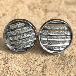 Stainless Steel Resin Studs: 12mm (Set M)