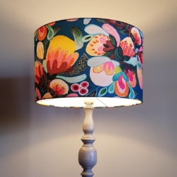 Large Hand crafted lampshade, created in Bermagui (lampshade only)