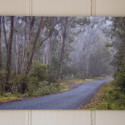 Photographic Wood Print – A Mountain Road