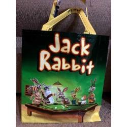 Upcycled Feedbag – Jack Rabbit