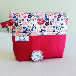 Handmade Handbag Organiser – Japanese Fans