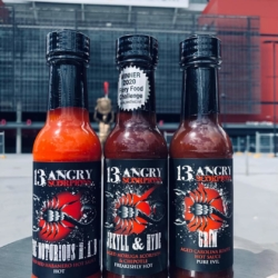13 Angry Scorpions Sauce Pack