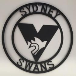 AFL Metal Wall Art – SWANS