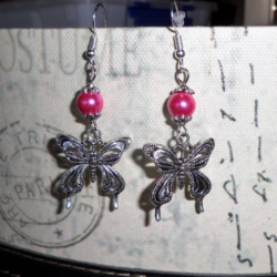 Sweet Butterfly Dangle Earrings