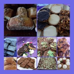 Variety of desserts