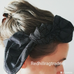 Handmade, wide hair wraps
