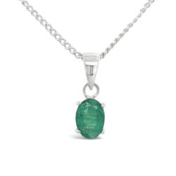Natural Emerald Pendant