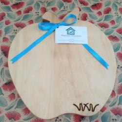 Wooden Chopping Board – Apple