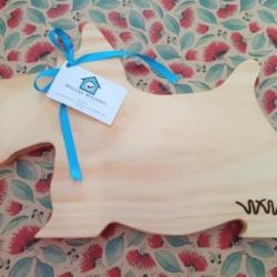 Wooden Chopping Board – Scotty Dog