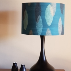 Hand crafted lampshade, created in Bermagui (Shade only)