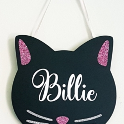 Kitten Door Hanger